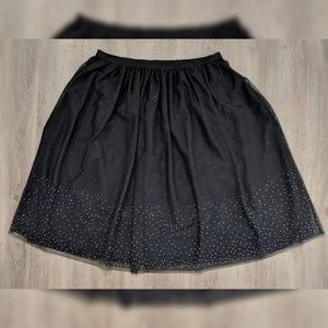 A New Day | sparkly skirt | XL